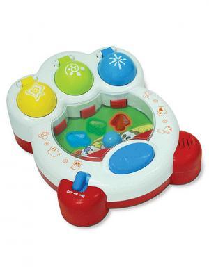 Пинбол Домашние животные Hap-P-Kid. Цвет: белый, голубой, красный