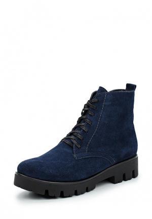 Ботинки Laura Valorosa. Цвет: синий