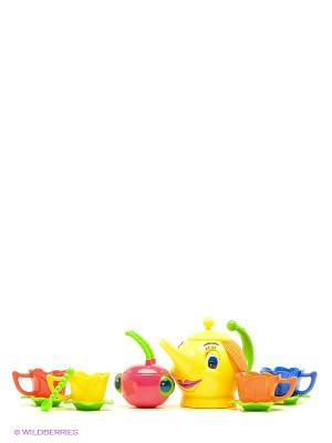 Набор для чаепития S-S. Цвет: желтый, красный, оранжевый
