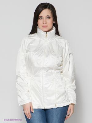 Куртка Finn Flare. Цвет: молочный