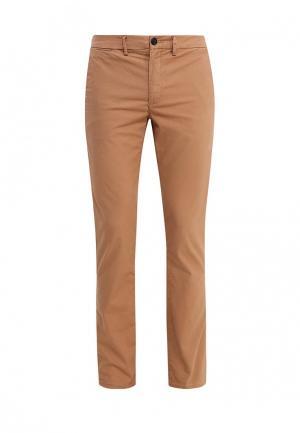 Брюки Burton Menswear London. Цвет: коричневый