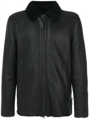Куртка из овчины Closed. Цвет: чёрный