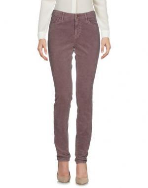 Повседневные брюки MASON'S. Цвет: розовато-лиловый