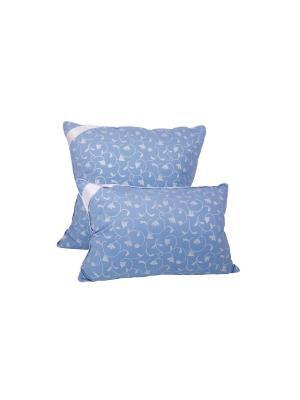 Пуховая подушка 50х68 см Dream time. Цвет: голубой