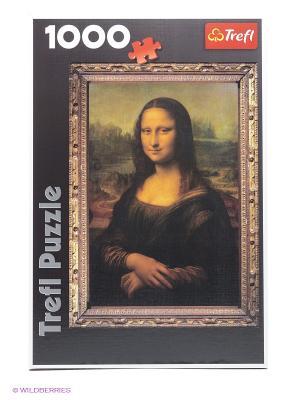 Пазл Мона Лиза Trefl. Цвет: черный