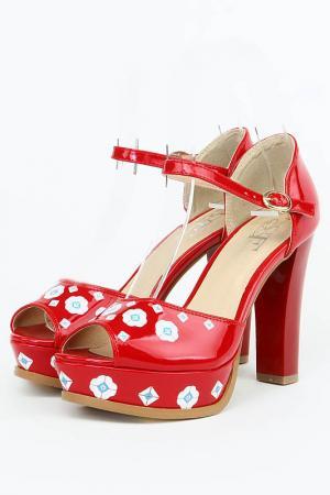 Туфли Sorte Felice. Цвет: красный