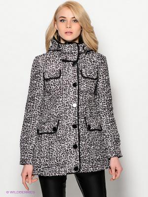 Куртка Ada Gatti. Цвет: светло-бежевый, черный, коричневый