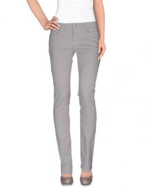 Повседневные брюки PIRELLI PZERO. Цвет: серый