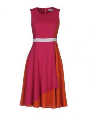 Платье до колена BOURNE. Цвет: розовато-лиловый