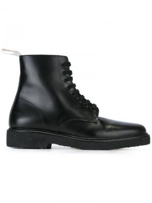 Ботинки в стиле милитари Common Projects. Цвет: чёрный