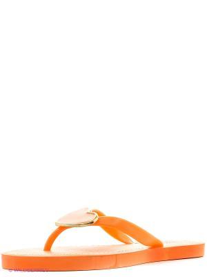 Шлепанцы KEDDO. Цвет: оранжевый