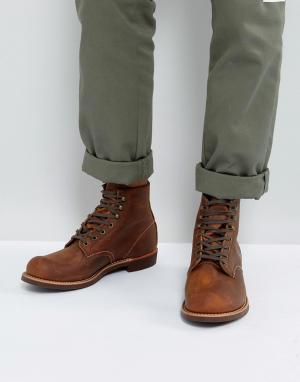 Red Wing Кожаные ботинки медного цвета со шнуровкой Blacksmith. Цвет: коричневый
