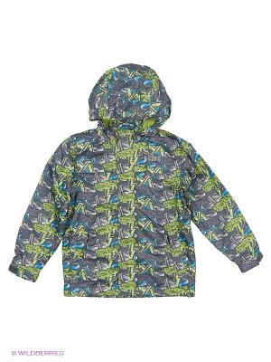 Куртка REIKE. Цвет: зеленый