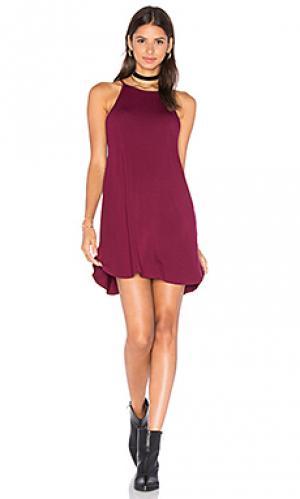 Платье stella De Lacy. Цвет: вишня