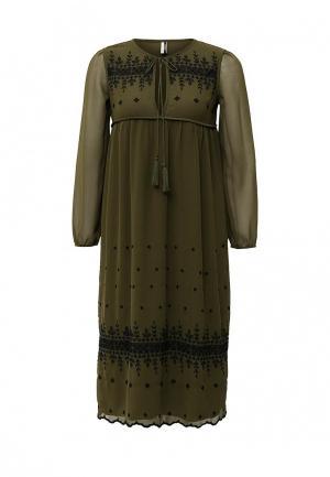 Платье Topshop. Цвет: хаки