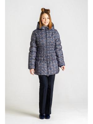 Куртка DIDILIYA. Цвет: темно-синий