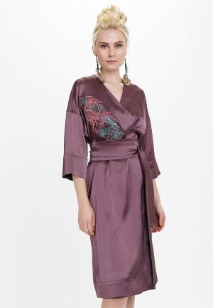 Платье Audrey Right. Цвет: фиолетовый