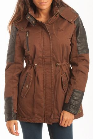 Куртка Lois Paul & Partners. Цвет: коричневый