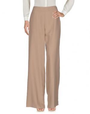 Повседневные брюки MALÌPARMI M.U.S.T.. Цвет: телесный