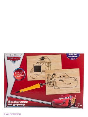 Набор для выжигания Disney Тачки: Маквин и Мак Фабрика Фантазий. Цвет: красный
