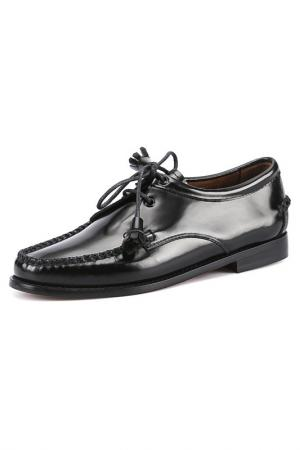 Ботинки G.H. BASS. Цвет: черный