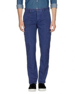 Повседневные брюки G.T.A. MANIFATTURA PANTALONI. Цвет: синий