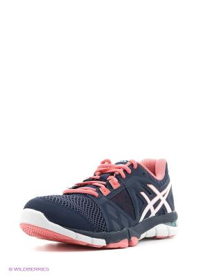 Спортивная обувь GEL-CRAZE TR 3 ASICS. Цвет: темно-синий, белый, зеленый