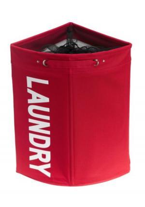 Корзина для белья Heine Home. Цвет: красный, кремовый, лиловый, серо-коричневый
