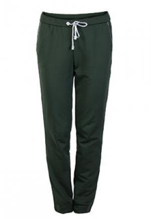 Спортивные брюки ALTER EGO. Цвет: зеленый