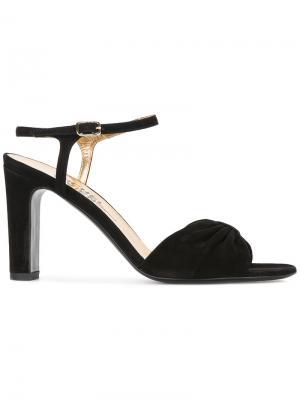 Босоножки с открытым носком Michel Vivien. Цвет: чёрный