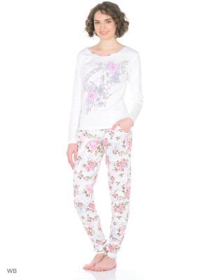 Пижама женская NICOLETTA. Цвет: белый