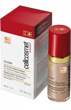 Клеточный крем с тональным эффектом CellTeint 01 Cellcosmet&Cellmen. Цвет: бесцветный