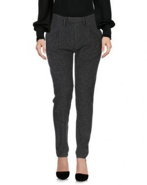 Повседневные брюки HAIKURE. Цвет: темно-зеленый