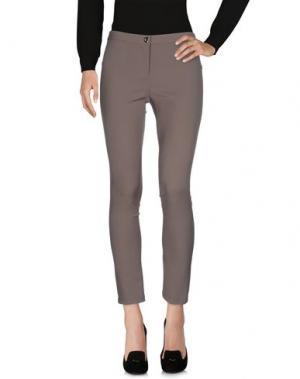 Повседневные брюки LUIS CIVIT. Цвет: серый