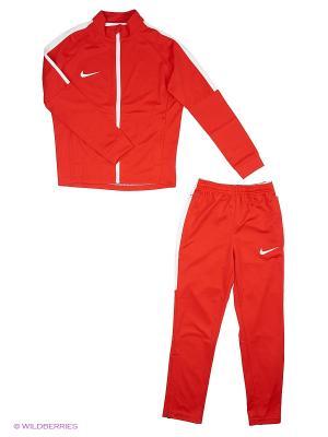 Спортивный костюм Y NK DRY ACDMY TRK SUIT K Nike. Цвет: красный