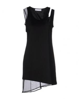 Короткое платье WANDA NYLON. Цвет: черный