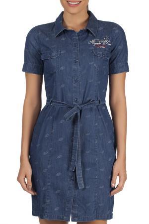 Платье Galvanni. Цвет: navy
