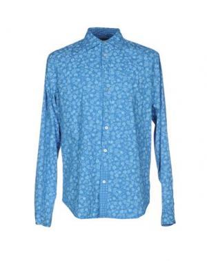 Pубашка RA-RE. Цвет: лазурный