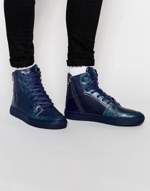 Creative Recreation Высокие кроссовки Adonis. Цвет: синий