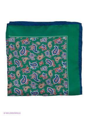 Платок-паше Troy collezione. Цвет: зеленый, синий