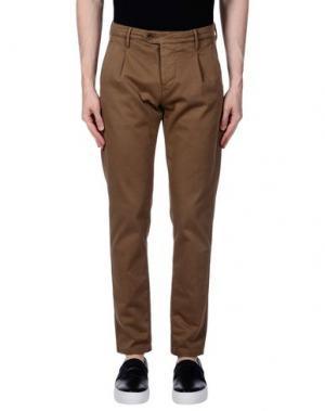 Повседневные брюки OAKS. Цвет: верблюжий