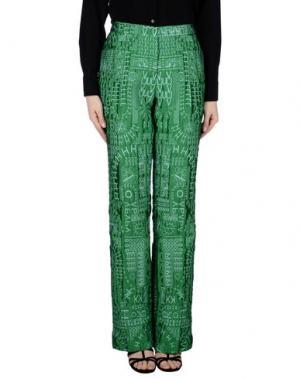 Повседневные брюки MARY KATRANTZOU. Цвет: изумрудно-зеленый