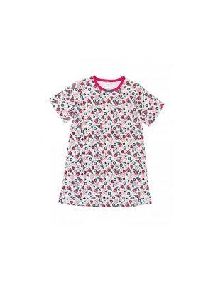 Ночная сорочка Модамини. Цвет: белый, голубой, коралловый