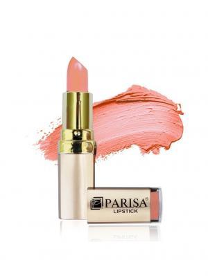 Помада L01, тон 21 Оранжево-розовый Parisa. Цвет: розовый