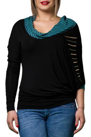 Блузка JOELLE JO'ELLE. Цвет: черный