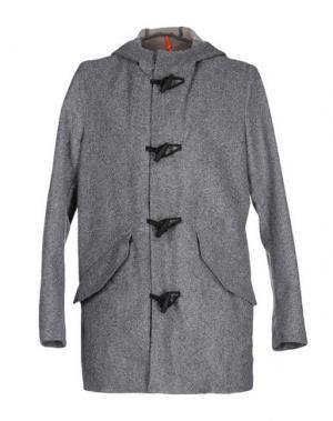 Легкое пальто RRD. Цвет: серый