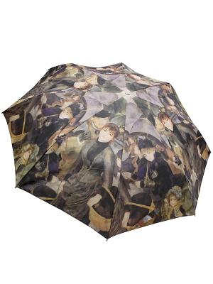 Зонт Edmins. Цвет: темно-коричневый, персиковый, терракотовый