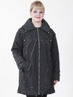 Куртка Бланш VIKO. Цвет: черный