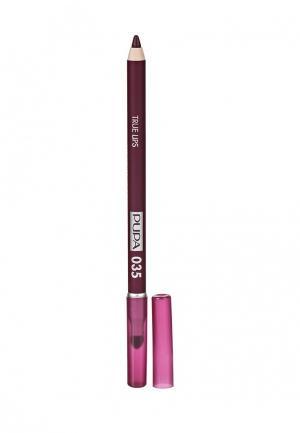 Карандаш для губ Pupa. Цвет: фиолетовый