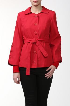 Пальто ALVAR. Цвет: красный